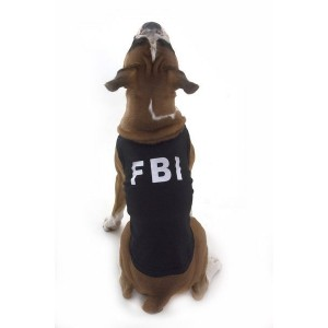 FBI Dog T-Shirt
